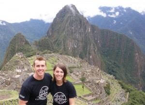 me and jo at machu picchu