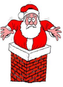 xmas chimney